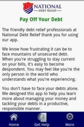 Pay off your credit card debt app screenshot