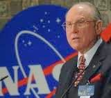 Vernon L. Grose speaks at NASA.