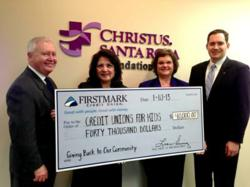 Firstmark Credit Union, Children's Hospital of San Antonio, Credit Unions for Kids