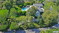 Aerial view of executive retreat. Photo provided by listing agent, member of  California Regional Multiple Listing Service, Inc.