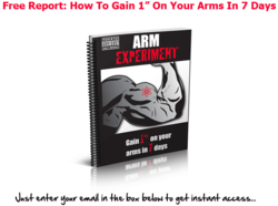 arm workout - gain 1 inch in 1 week
