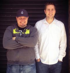 Kajabi founders Travis Rosser and Kenny Rueter