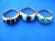 Wholesale costume jewelry bronze rings
