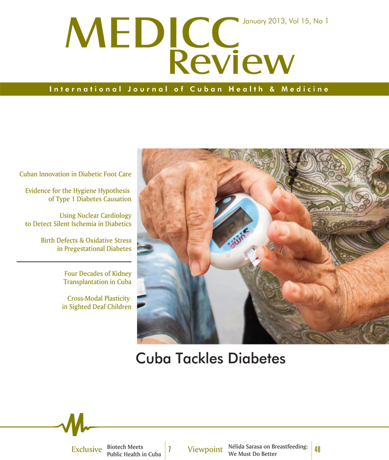 MEDICC Review Publishes Special Issue: Cuba Tackles Diabetes