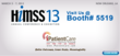 Visit iPatientCare Booth# 5519 at HIMSS 2013, Annual Conference &...