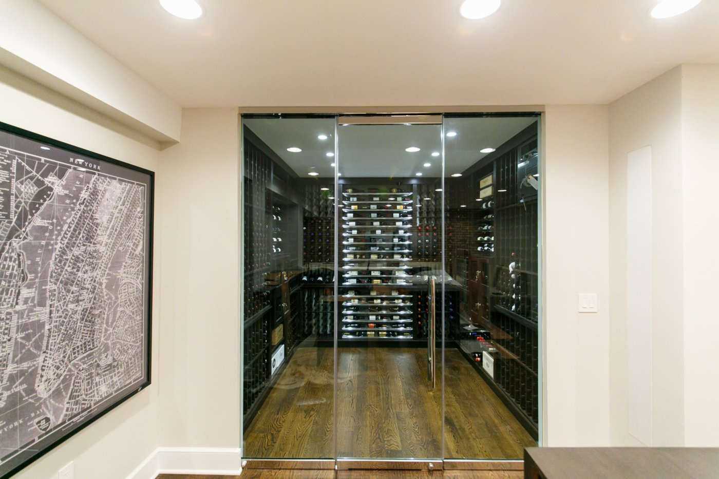 Joseph curtis custom wine cellars of north plainfield Cellar designs