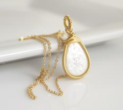 Delicate Pearl Necklace by Jewels2Luv of Bellaire, TX