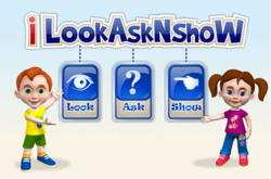 Look, ask and show