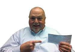 Dennis Burden is winner of ILSA's $5000 Referral Sweepstakes!