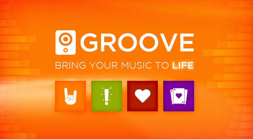 how to get groove music on windows 8