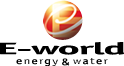 E-world 2013 Energy and Water logo, Essen, Germany, Europe