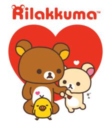 Photo of Rilakkuma characters which make their USA debut at Puzzlezoo toy stores.
