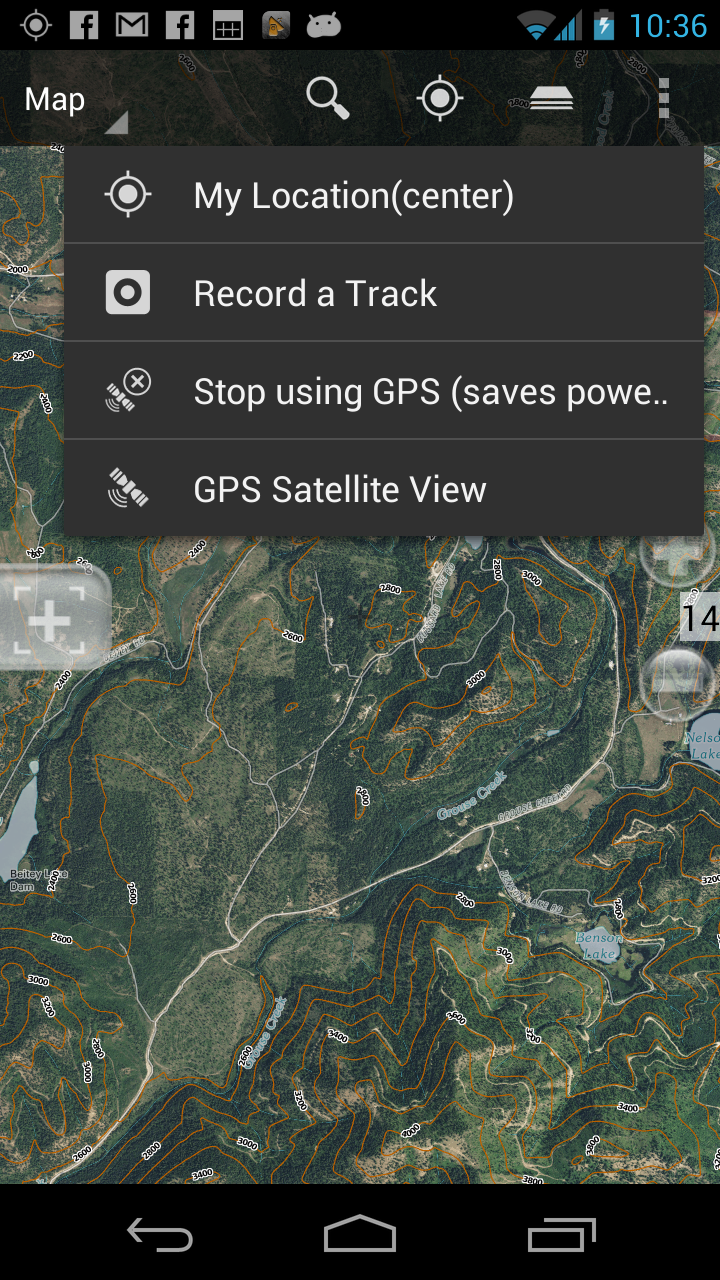 BackCountry Navigator Updates Topo Map Offerings For Android GPS - Us topo maps app android