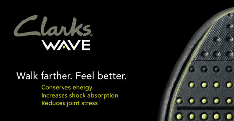 Wave Shoes from Clarks WAVEWALK