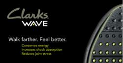 Clarks Wave Shoes with WAVEWALK Technology