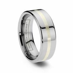 Argentium Silver Wedding Band Ring