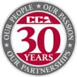 CCA 30th Anniversary. Our People, Our Passion, Our Partnerships.
