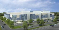 Rendering of Cervalis Norwalk Data Center Scheduled of Completion in 2013