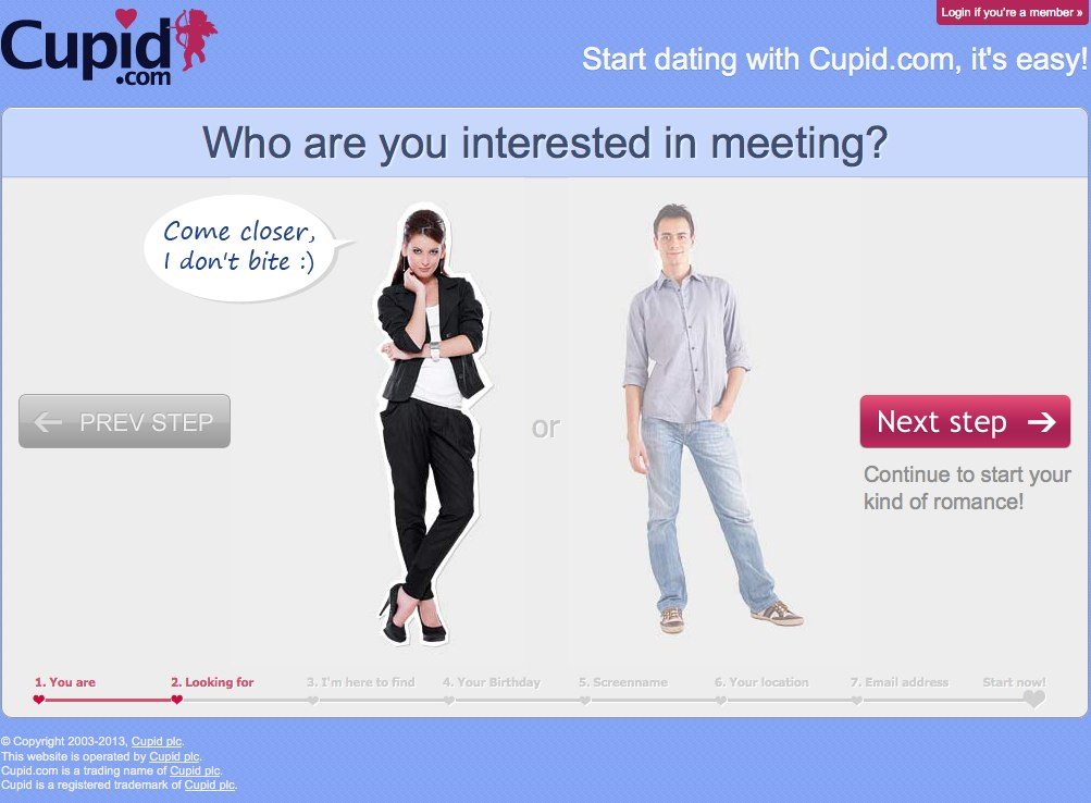 Www international cupid dating online