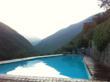 stunning swimming pool setting in Liguria