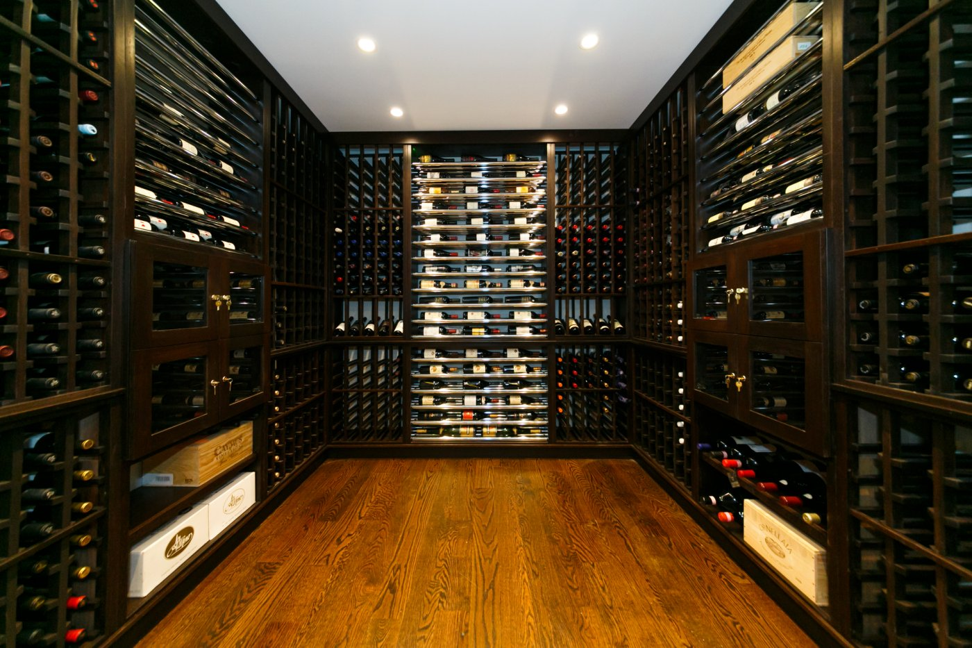 modern custom wine cellar custom wine cellar designed with african ...