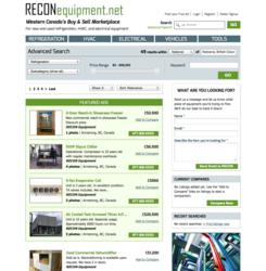 Buy and sell used industrial or commercial refrigeration equipment on RECONequipment.net