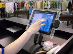 iPad point-of-sale