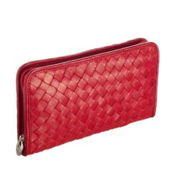 Bottega Fiorentina Woven Leather Purse