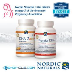 15% off Nordic Naturals at ShopCLE.com