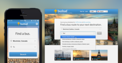 Busbud website and iPhone app