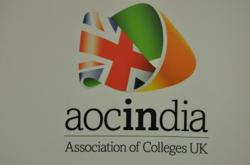 Havering College of Further and Higher Education is participating in the Association of College's (AoC) in India project