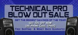 Technical Pro Blow-out Sale at OnlyFactoryDirect.com