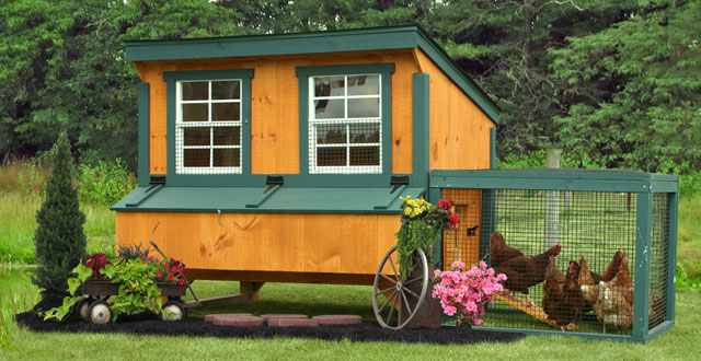Sheds Unlimited Announces Backyard Chicken Coop Shed Sale