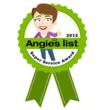 Angie's List 2012 Super Service Award High