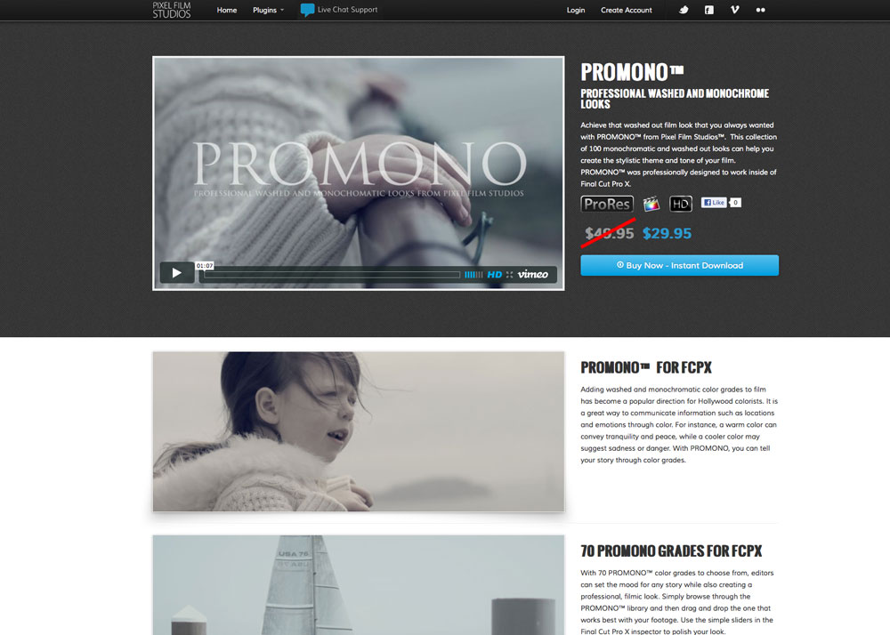 Pixel Film Studios Announces Promono Washed Film Looks For