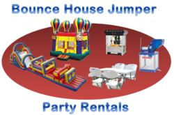 Sacramento bounce house rental and party supply.