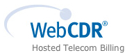 WebCDR - Hosted Telecom Billing