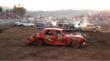 "Katy Sweat's demolitian derby car ""Heap-o-Trouble"""