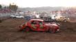 """Katy Sweat's demolitian derby car """"Heap-o-Trouble"""""""
