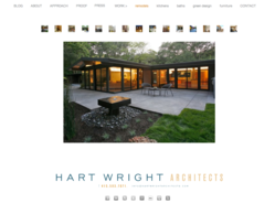 Hart Wright Architects homepage