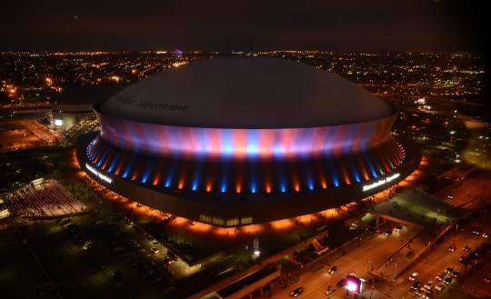 Superbowl xlvii countdown to kick off clock provided by for Mercedes benz of new orleans