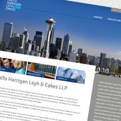 seattle law firm website design