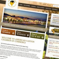 california chamber of commerce website design