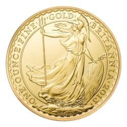 2013 Royal Mint Gold Britannia