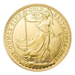 2013 Royal Mint Gold Britannia