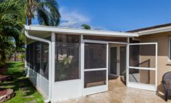 Recent Introduction By Venetian Builders, Inc., Miami, Of Wide French Doors  Starts Trend As More Sunroom, Screen Enclosure Buyers Opt For Big Openings