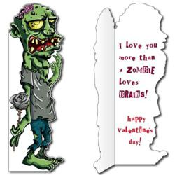 Huge Zombie Valentine Card