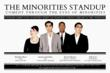 The Minorities Stand Up Flyer