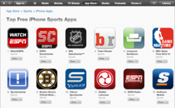 SportsManias Ranks #8 in List of Top Sports Apps