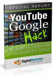 Digital Marketer's YouTube Google Hack